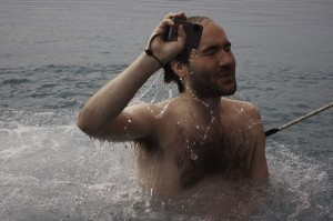 Ali's polar plunge