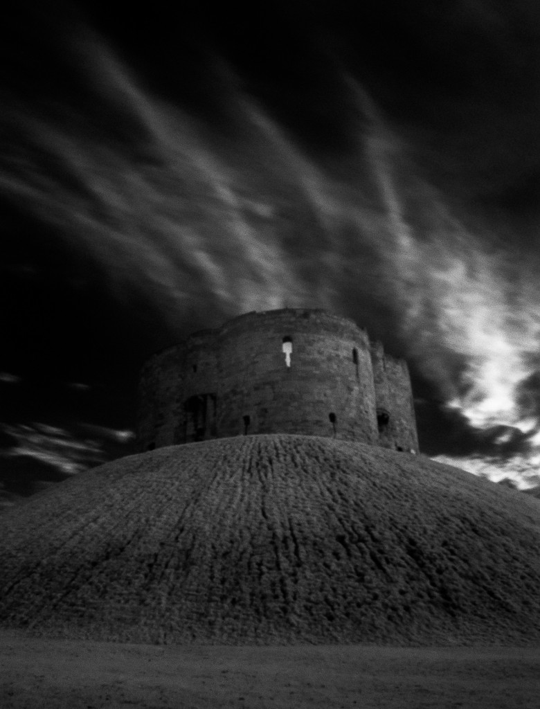 Infrared Clifford Tower, York